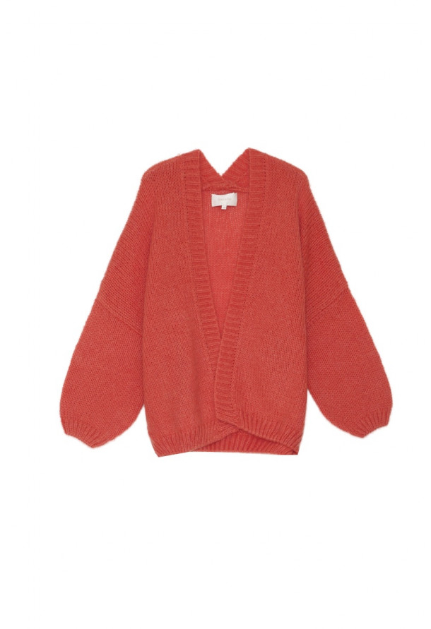 Cardigan Adorable Pêche