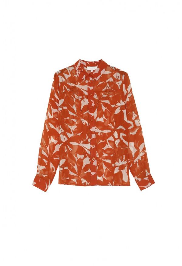 Shirt Albane Brique
