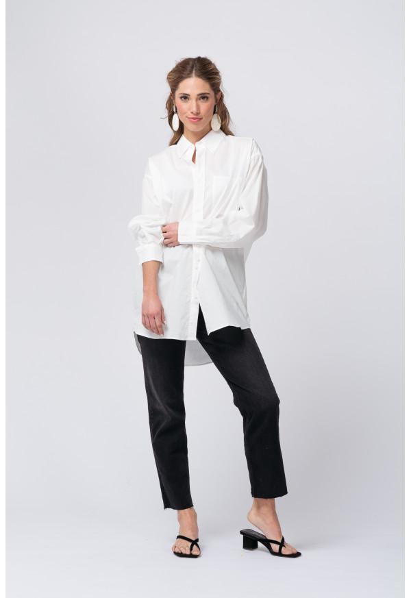 Camisa Krimcity 105 Blanc