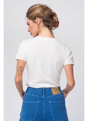 Tee-shirt Bipcat 12 Blanc