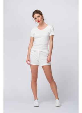 Short Bipcat 12 Blanc