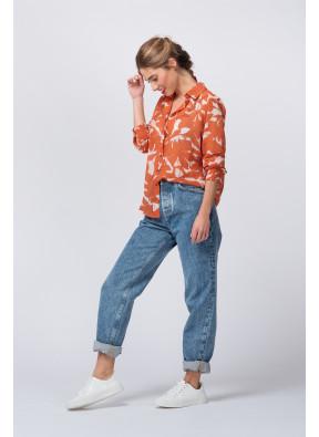 Camisa Albane Brique