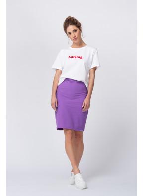 Camiseta Amoureuse Écru