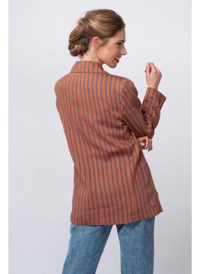 Jacket Rosario Blue Stripes