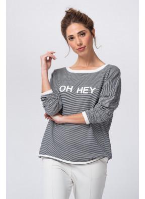 Tee-shirt S20C095 Navy