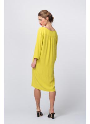 Dress S20F743 Green Banana