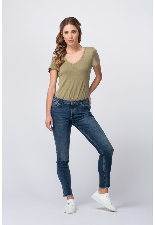 Jean skinny cropped  Lily B-210