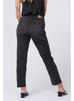 Jean highwaist cropped Milo Black