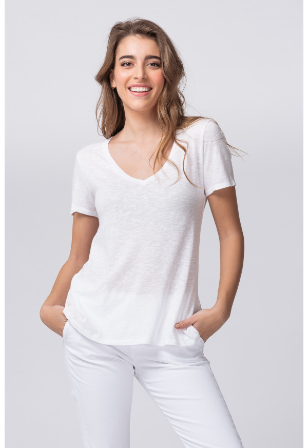 Camiseta Kobibay 57 Blanc