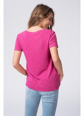 Tee-shirt Kobibay 57 Bougainvillier
