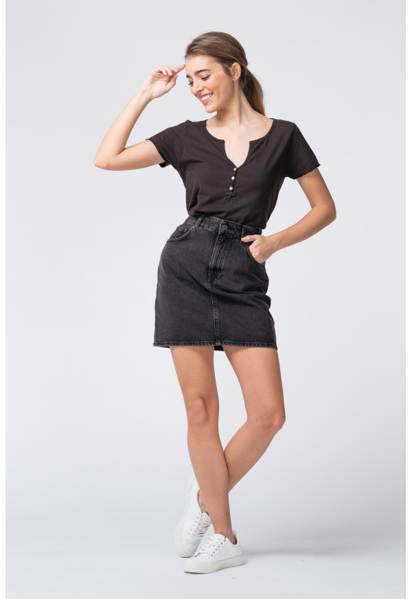 Mini jupe Yopday 194 Black Poivre