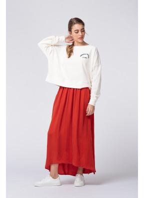 Sweatshirt Oligood 65I Blanc