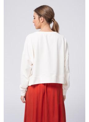 Sweat Oligood 65I Blanc