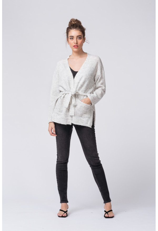 Chaqueta Affectueuse Gris Clair