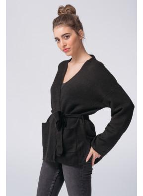 Cardigan Affectueuse Noir