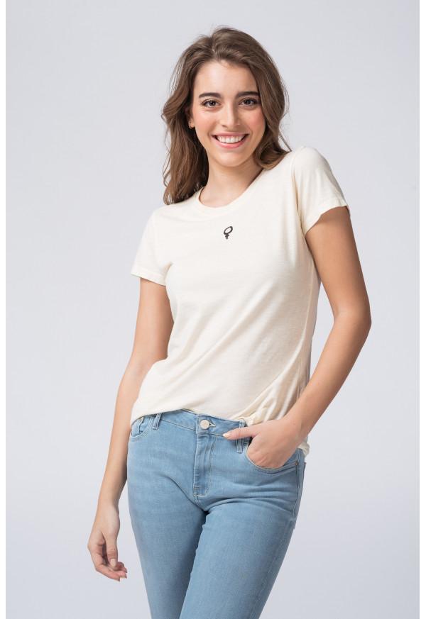 Camiseta  S20F695 Ecru