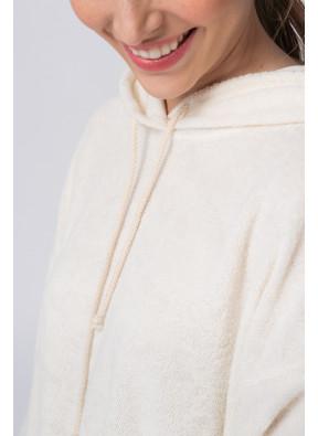 Sweatshirt Okibay 82b Nacre