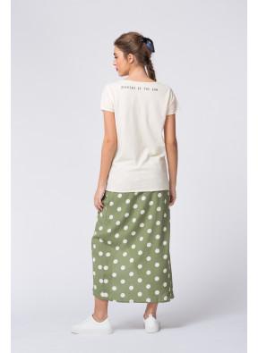 Camiseta S20F698 Ecru