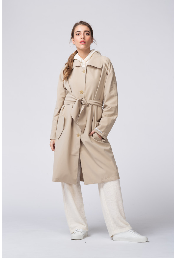Trench Coat  S20N684 Sand