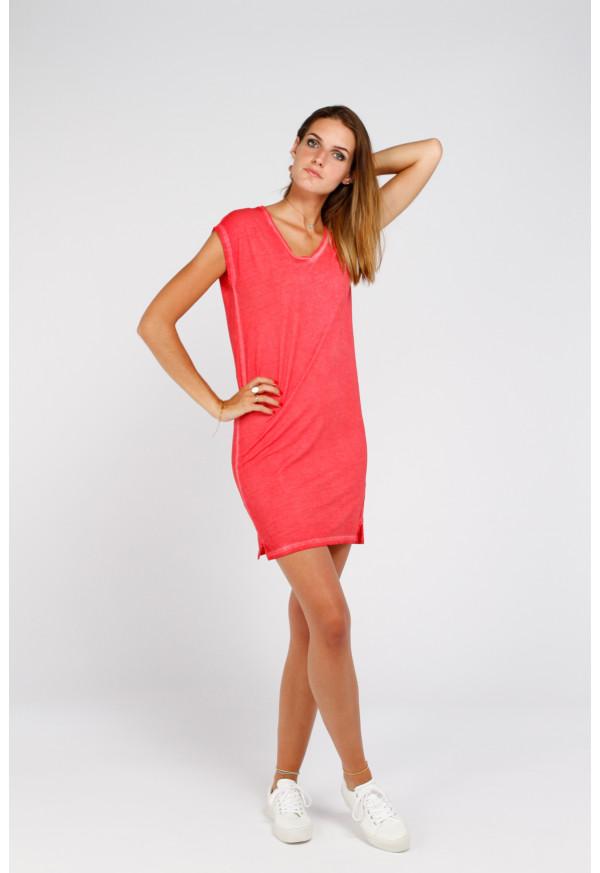 Vestido Moorea Rosso