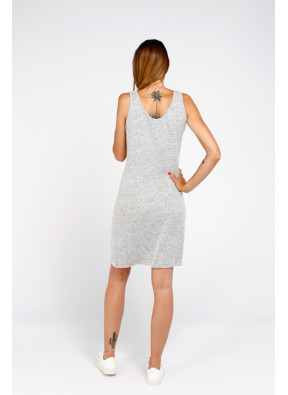 Vestido S19 B048 Md Grey Melange
