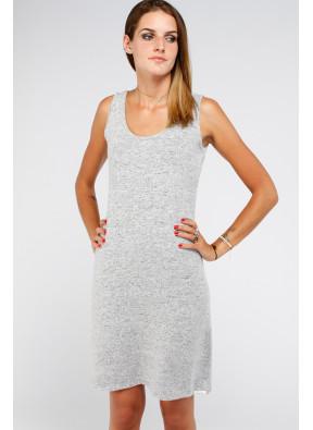 Dress S19 B048 Md Grey Melange