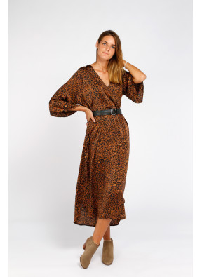 Dress Olga Leopardo