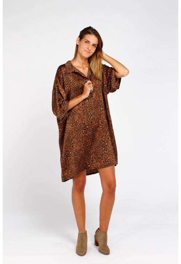 Vestido Penny Leopardo