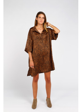 Dress Penny Leopardo