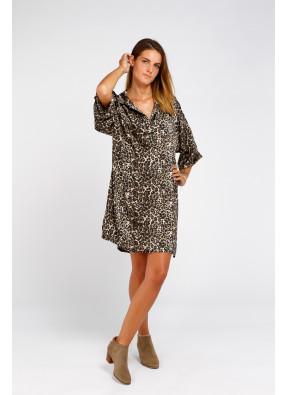 Dress Penny Imprime Noir