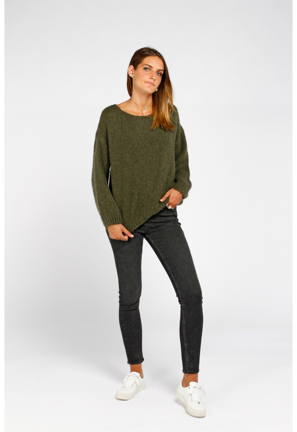 Sweater 19208 Kaki