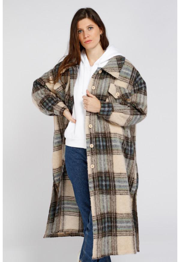 Coat 66081 Beige