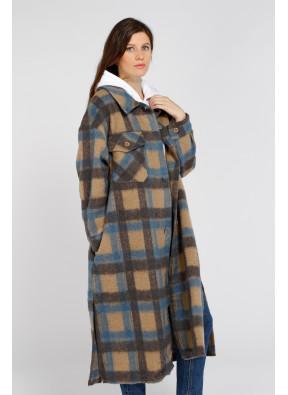 Coat 66081 Maron/Azul