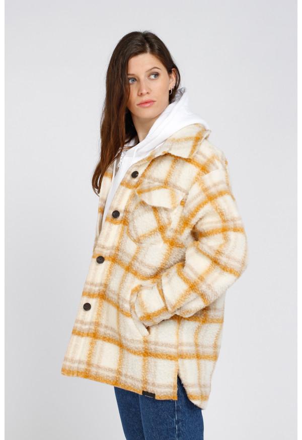 Jacket W19N553 Ecru
