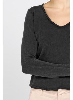 T-shirt Sonoma 02BG Noir Vintage