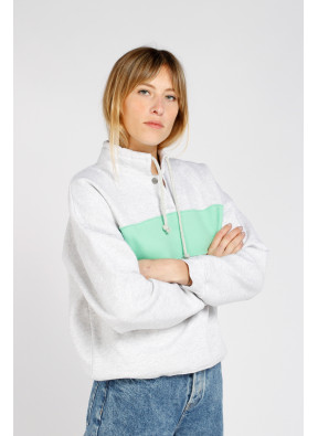 Sweatshirt Baetown Gris Clair