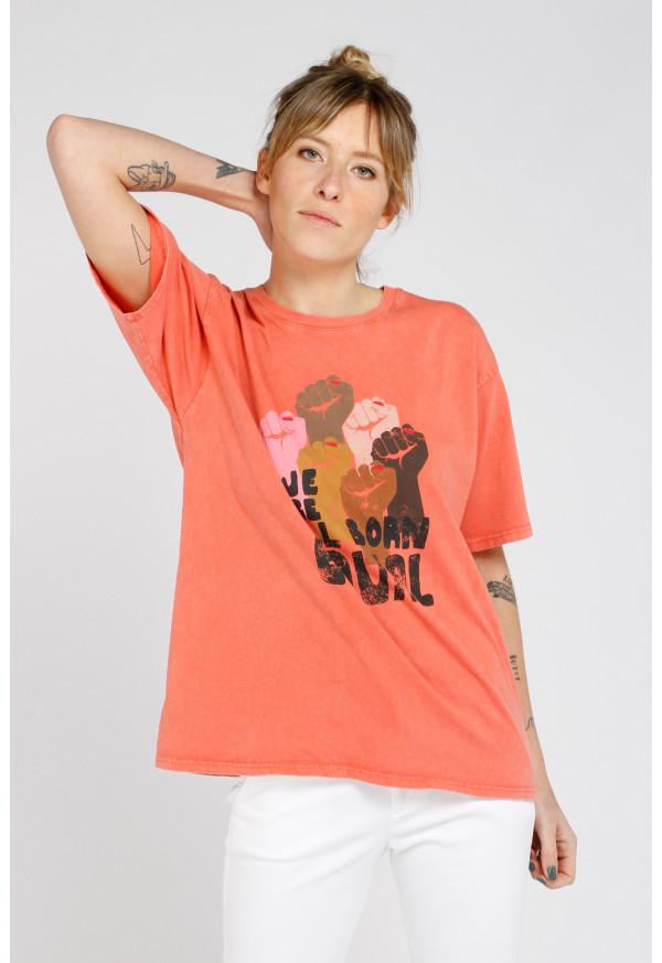 Camiseta Equal Blood Orange