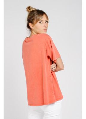 Tee-shirt Equal Blood Orange