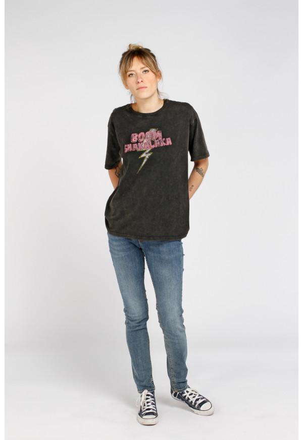 Tee-shirt Boom Black