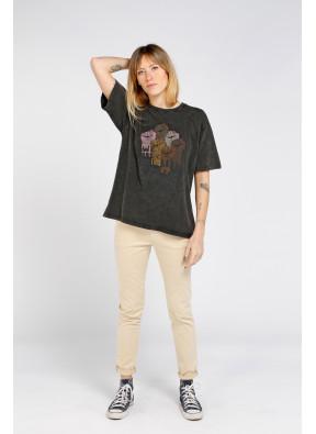 Tee-shirt Equal Black