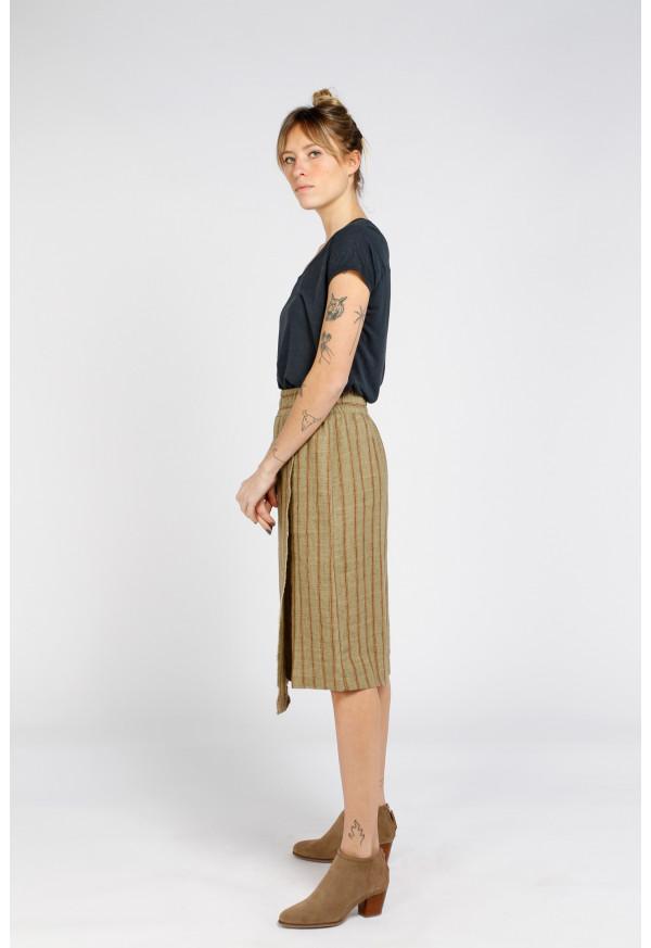 Skirt S21F885 Aloe