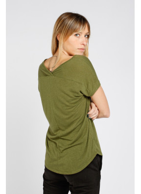Tee-shirt S21T548 Kaki