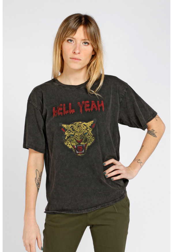 Tee-Shirt Hell Yeach Black