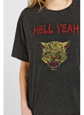 Tee-Shirt Hell Yeach Black