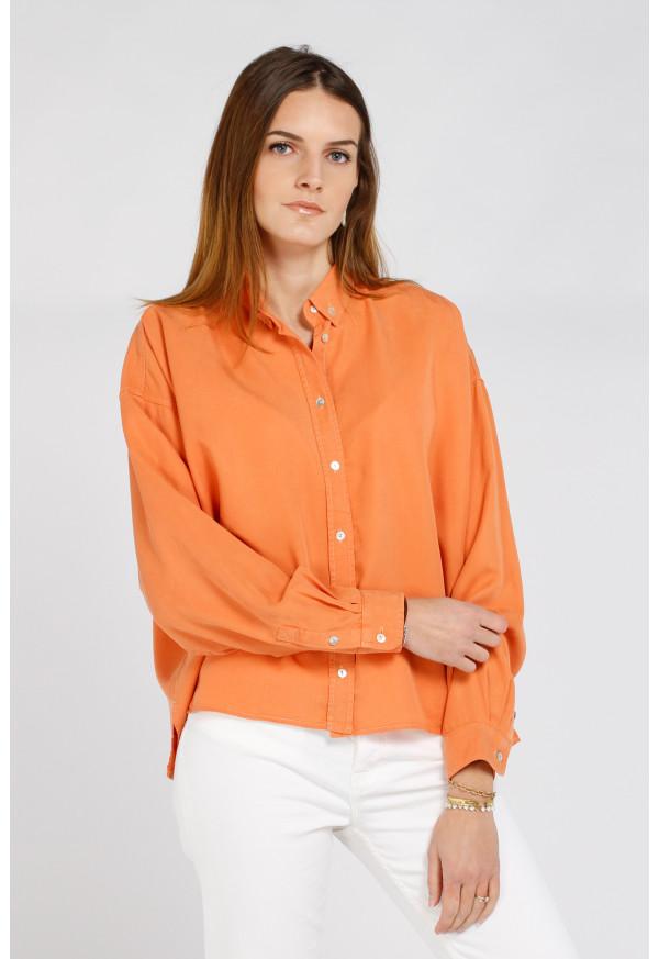 Camisa Bea Color Orange Crush