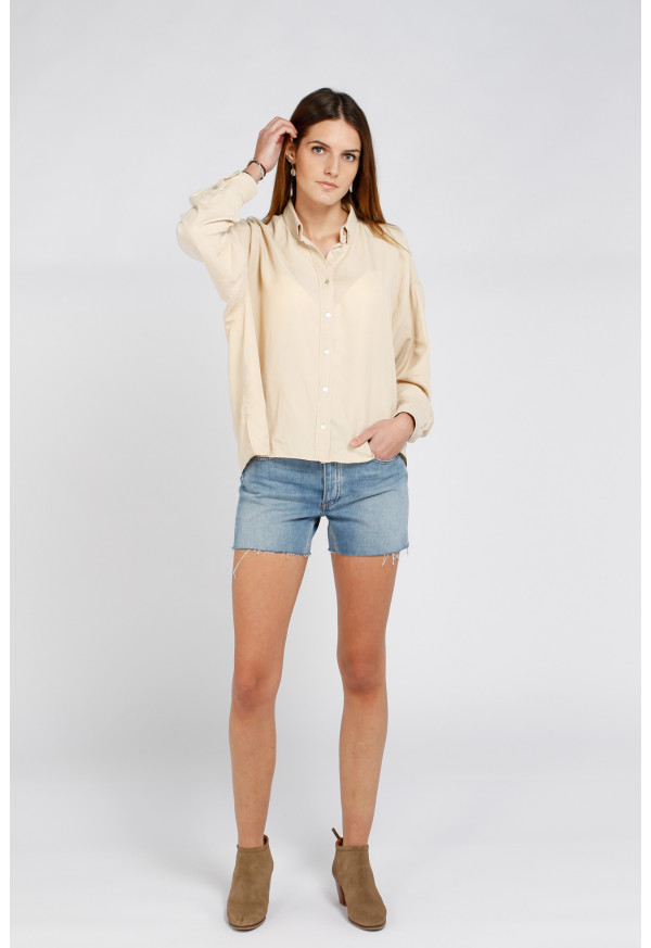 Camisa Bea Color Light Sand