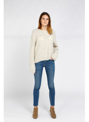 Pull East 18F Poudreuse Chiné