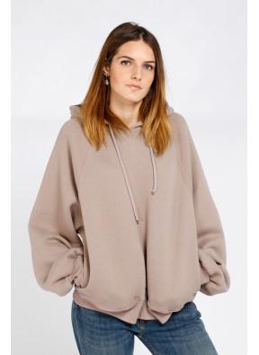 Sweatshirt Ikatown 03A Taupe