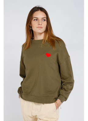 Sweatshirt Jimmy Kaki