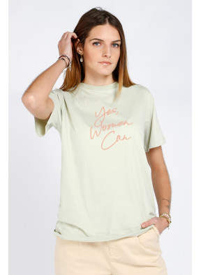 T-shirt Teila Celadon